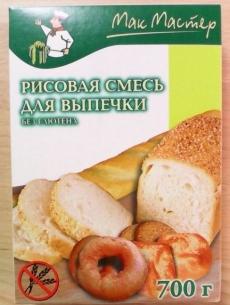 Безглютеновая смесь для выпечки рисовая ТМ МакМастер