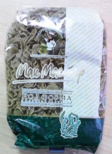 Макароны лапша йодоформа с морской капустой МакМастер