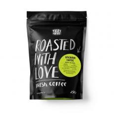 Молотый кофе Бразилия Сантос «Tasty Coffee» 250 гр