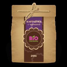 Клетчатка с черникой «Bio National» 200 гр.