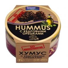 Хумус с кедровыми орешками (без консервантов)