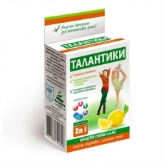 «Талантики» иммуномоделирующий, с лимонным соком