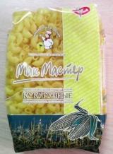Безглютеновые макароны кукурузные рожок ТМ Макмастер
