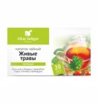 Чайный напиток «Живые травы» Алтай-Селигор